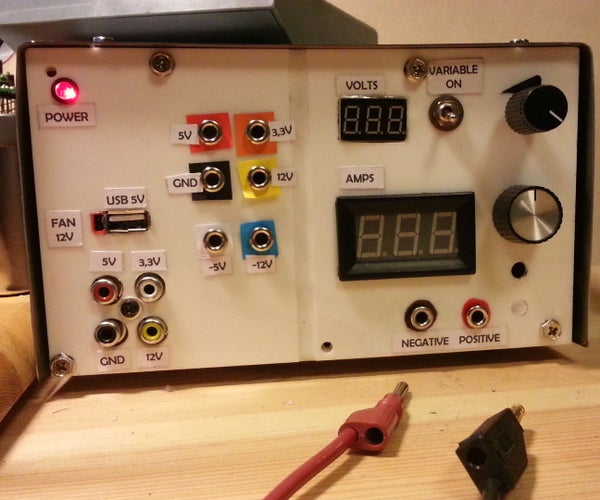 Super Recycled Benchtop Power Supply
