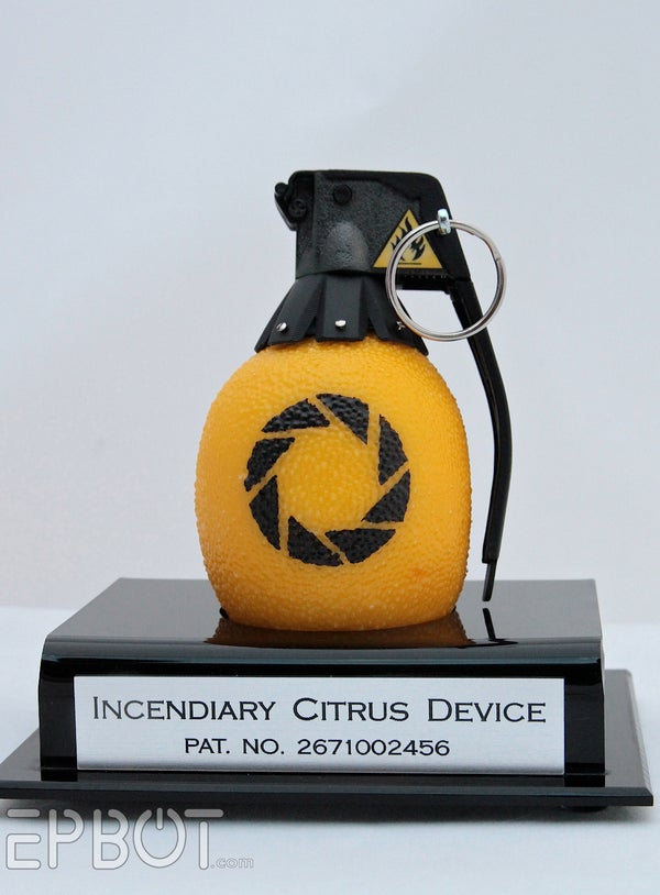 Portal 2 Inspired Lemon Grenade (With Sound!)