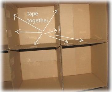 Assemble 13x13x13 Cube Boxes