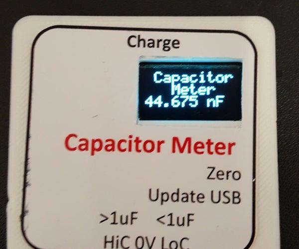 ATTiny85 Capacitor Meter