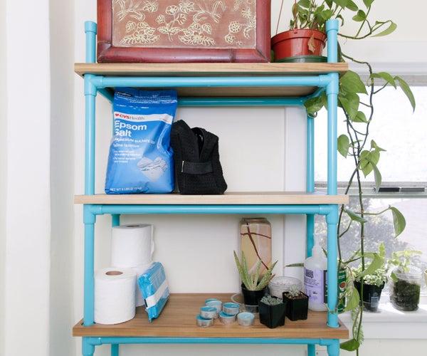 PVC Bathroom Shelf