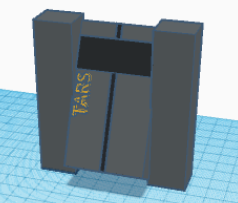 How to Make Tars From Interstellar Using Tinkercad/ for Distance Learning With Tinkercad Contest