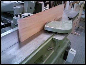 Stock Preparation for the Aprons, Dividers, Rails & Stretchers