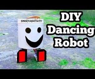 制作一个没有3D打印机和Arduino /#SmartCreativity的跳舞机器人