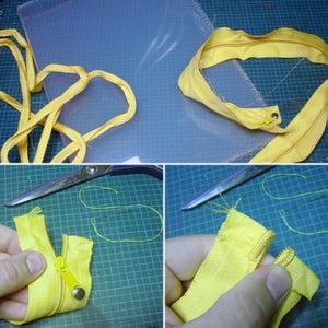 Salvage Zipper