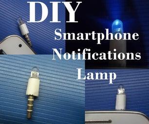 DIY Smartphone Notification Lamp