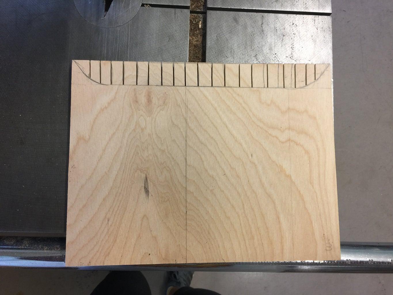 Step 7: Front Piece Curve