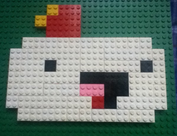 Make the FEZ Character Out of Legos