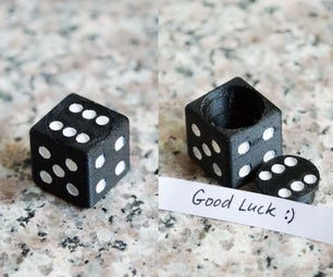 3D印刷拼图盒骰子和钥匙串
