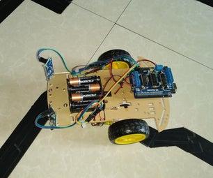 使用Arduino的自主线路跟随机器人