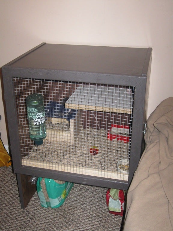 Rat Cage From Old TV Stand