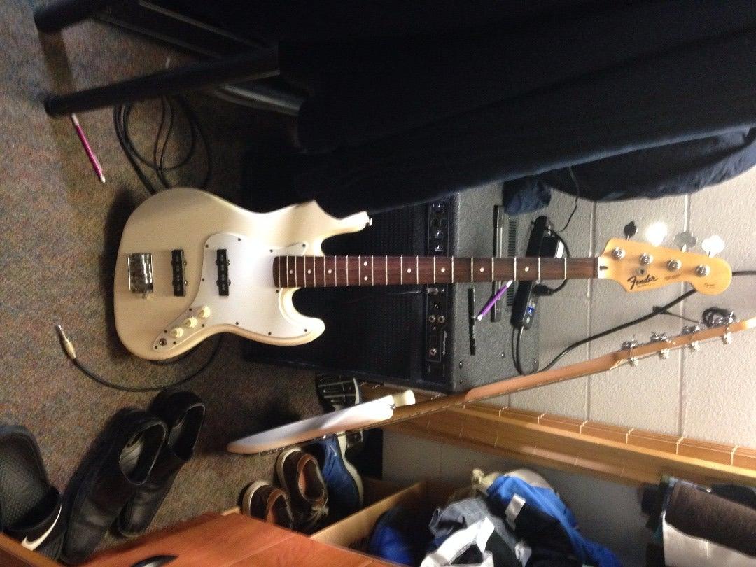 Restoring a Bass Guitar