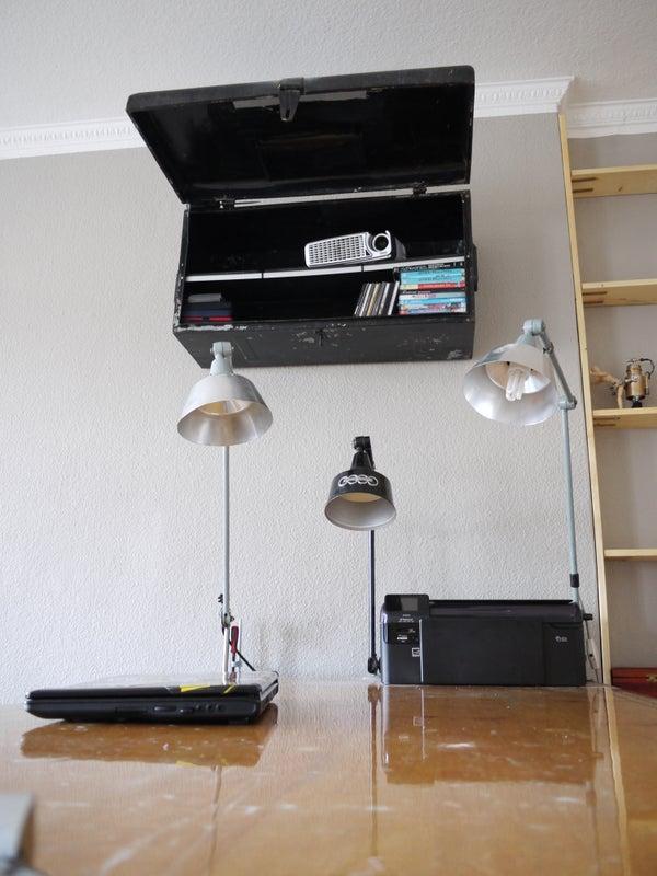 My Industrial Looking HomeCinema, Build on Budget, Installation