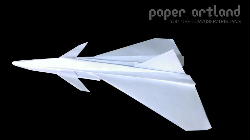 Cool Paper Airplane Tutorial: Eurofighter-Typhoon