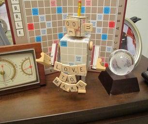 Meet 'OOE' the Scrabble Robot