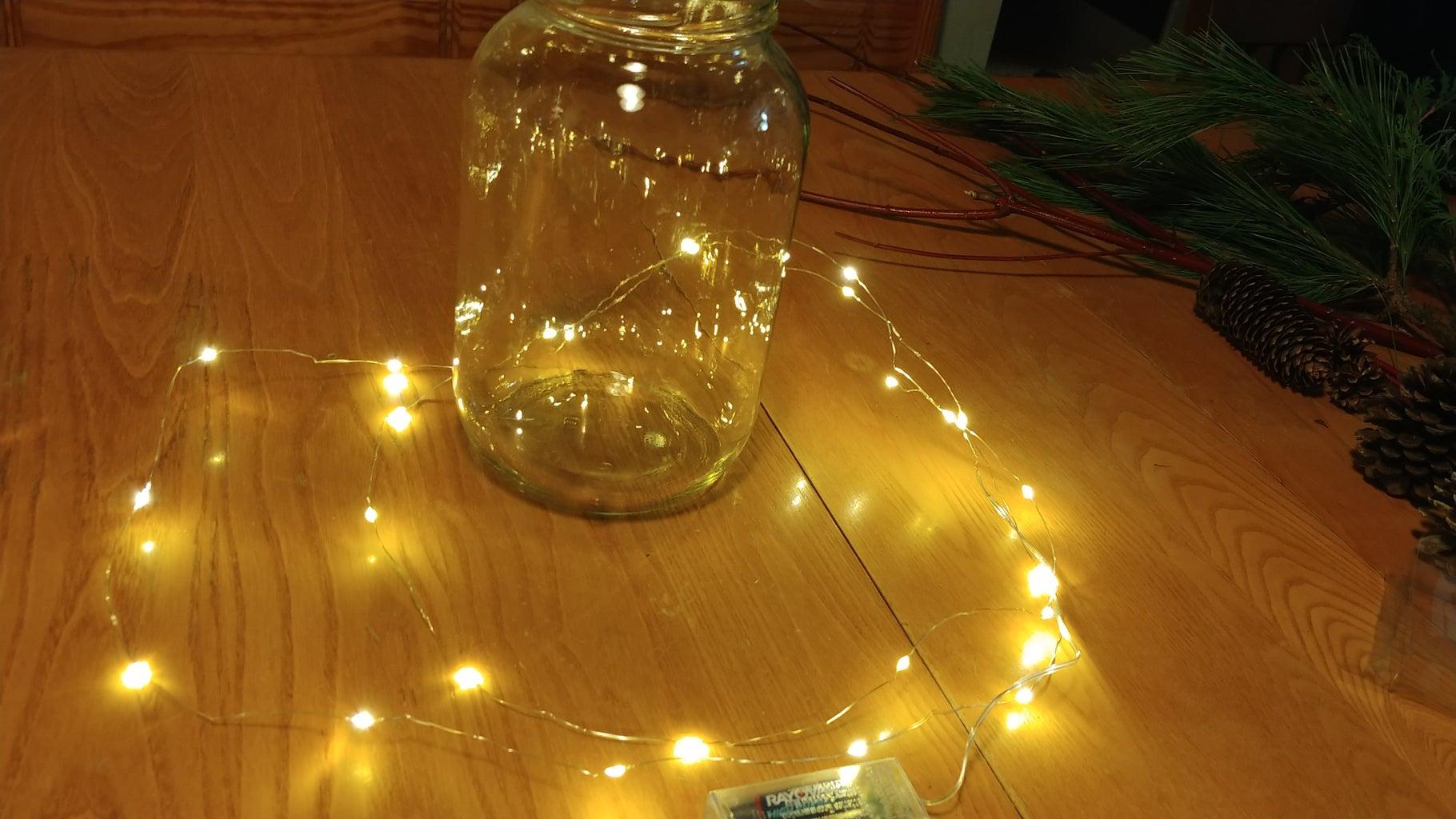 Preparing Your Light String