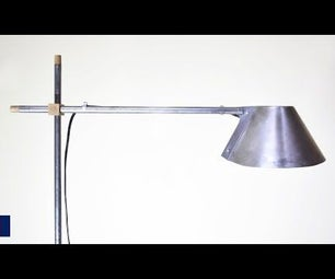 Making a Freestanding Adjustable Lampshade
