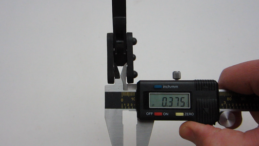 Measure the Spacing on the Top Mounting Plates