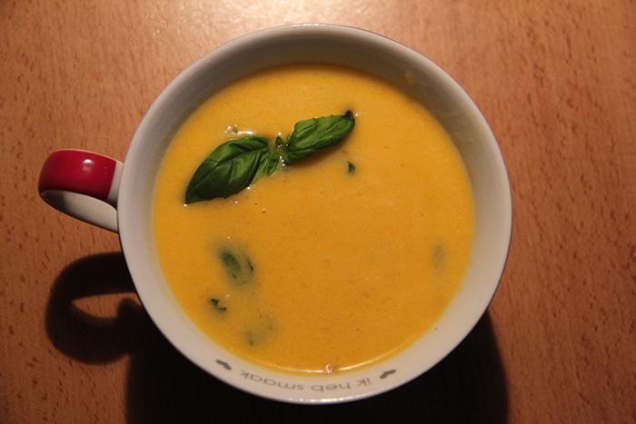 Peachy Pumpkin Soup