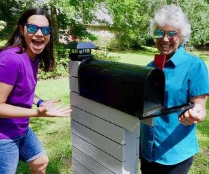 如何制作并安装现代邮箱