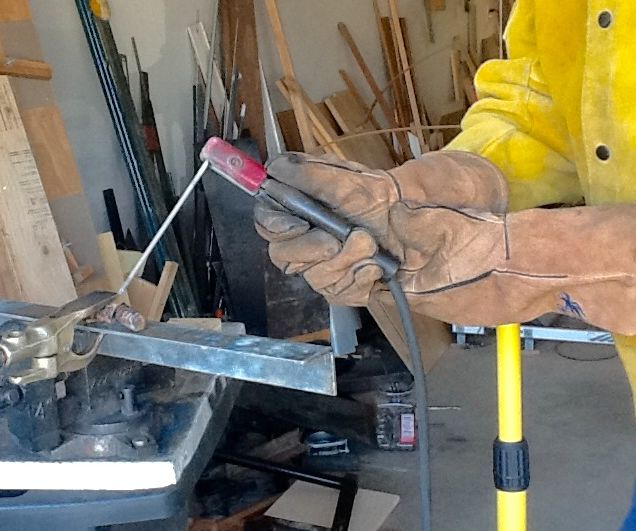 Arm Support for Welding