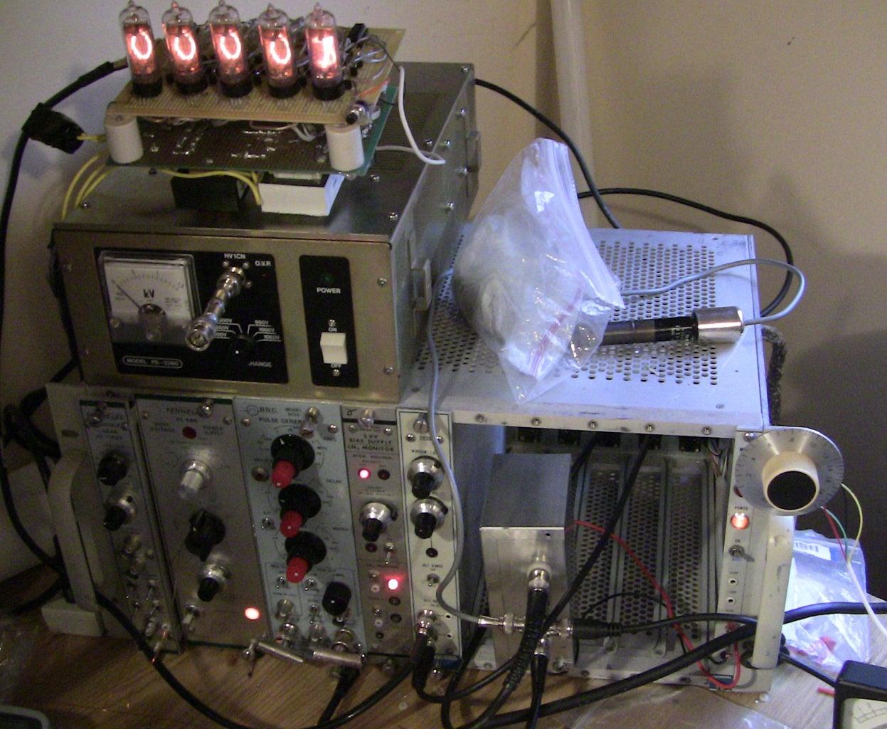 Setup Neutron Detection
