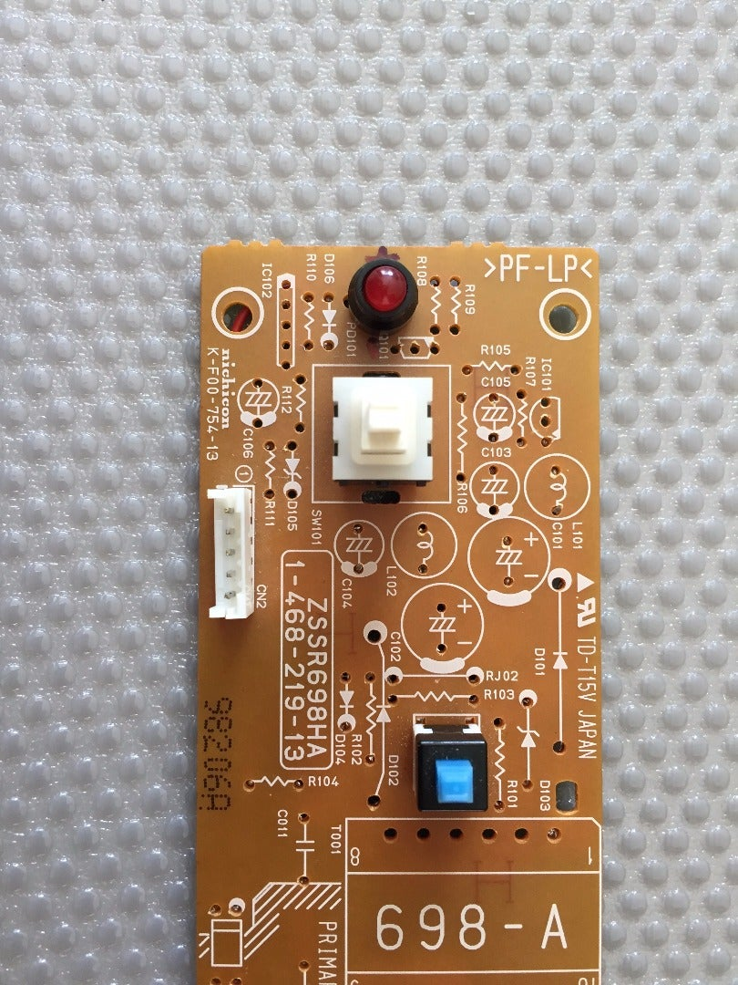 Replacing the LED (optional) and Solder Points for the Switch