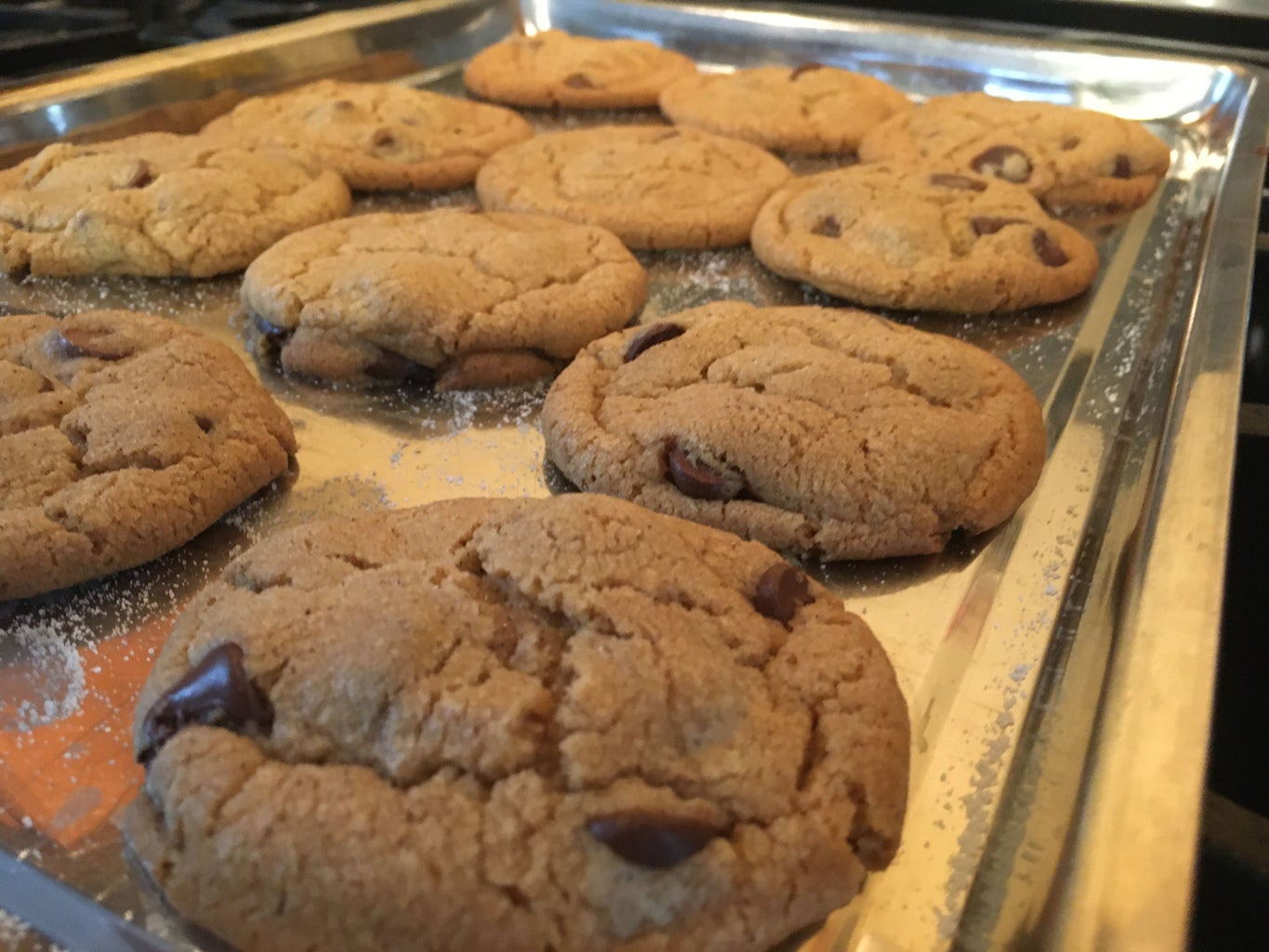 Baking and Cooling the Cookies