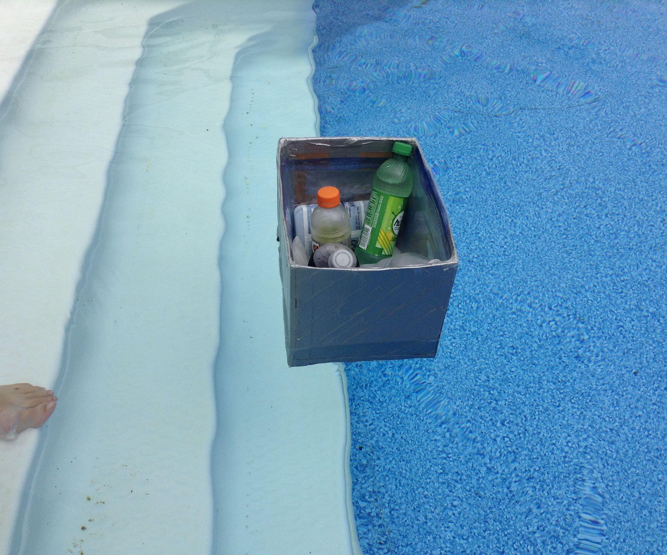 Easy Cardboard Floating Cooler