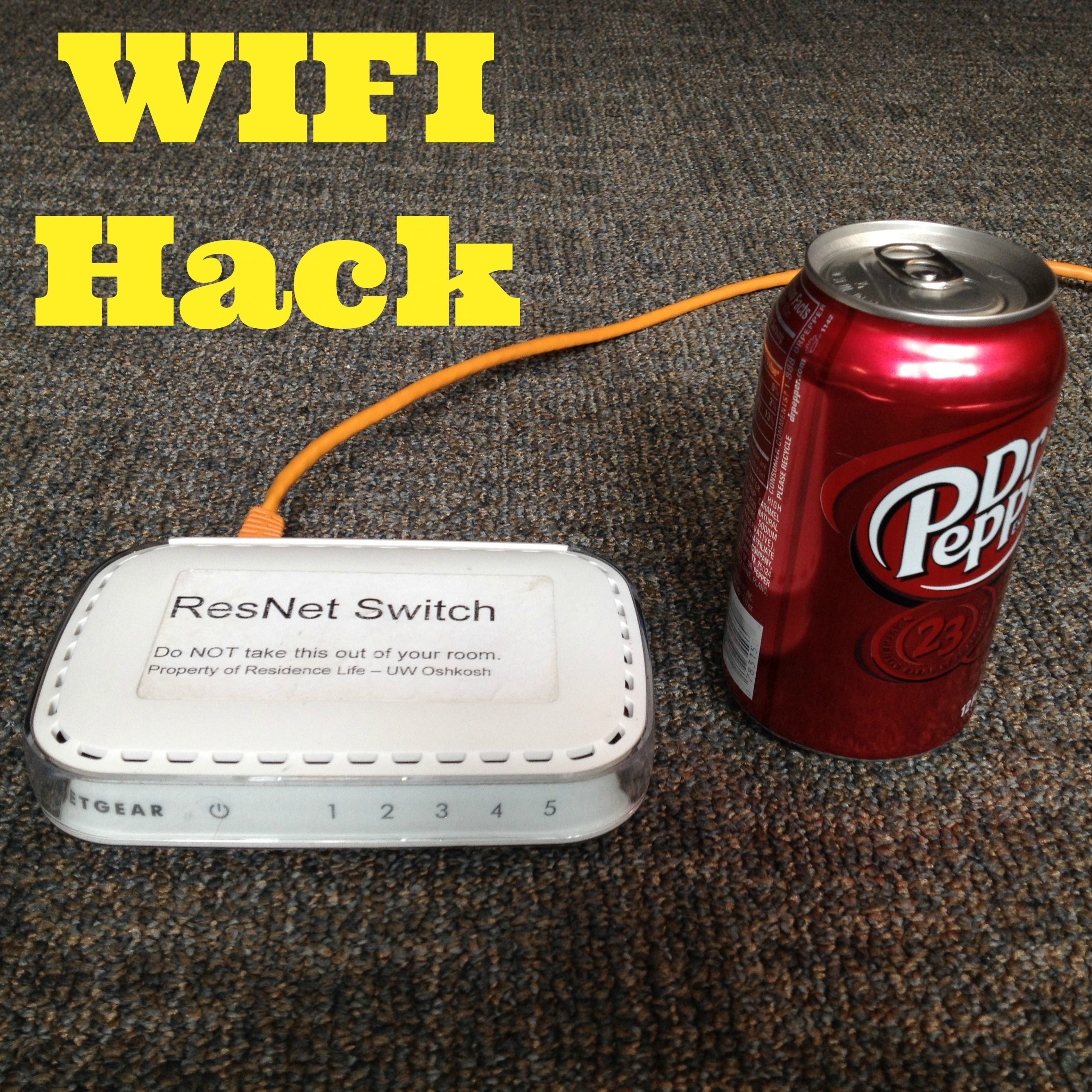 How to Increase Your WIFI Speed with a Soda Can (Video)