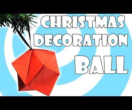 DIY: Christmas Decoration Ornaments Ball