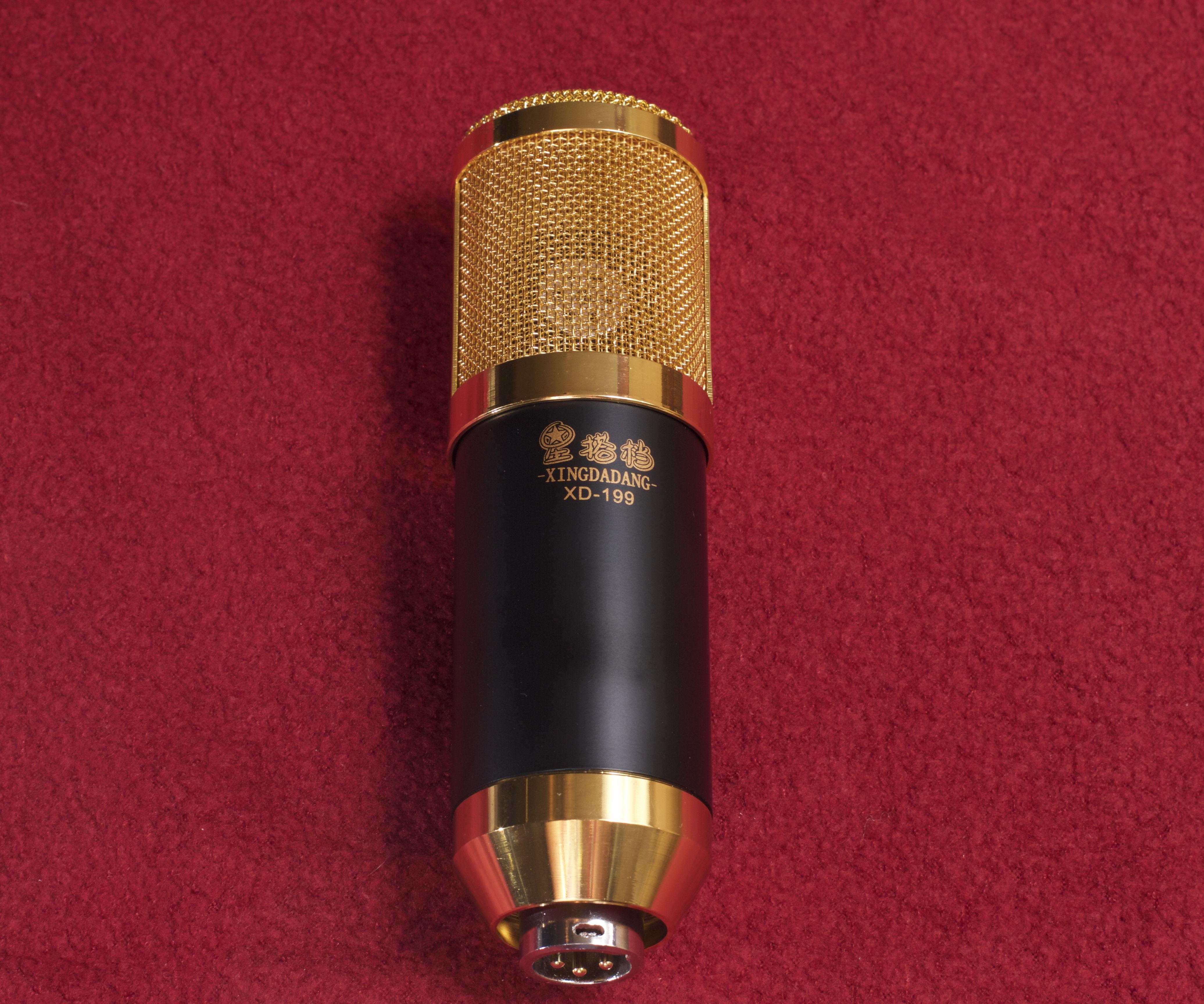 Modify a cheap LDC Condenser microphone