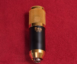改装廉价的LDC电容话筒