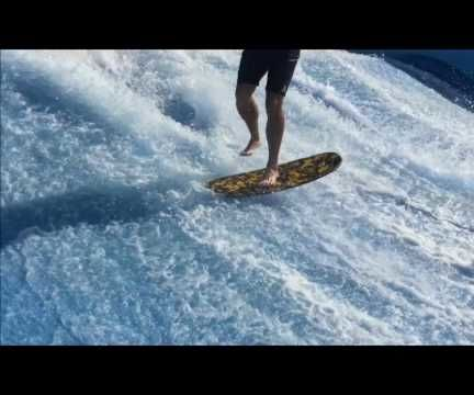 How To do a Shuvit on a Flowrider