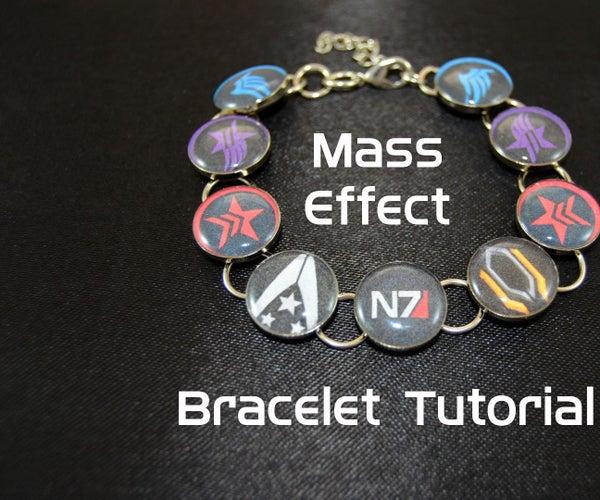 Mass Effect Resin Cosplay Bracelet