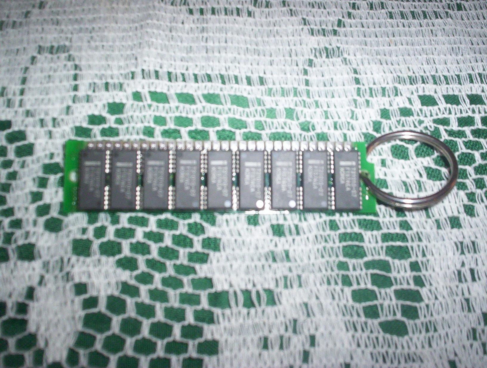 Ram/Pcboard Keychain