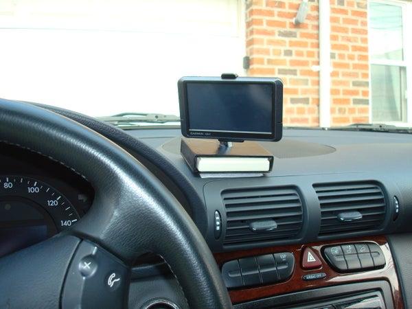 Direct Wire GPS Mount + EZPass Holder for Benz C240