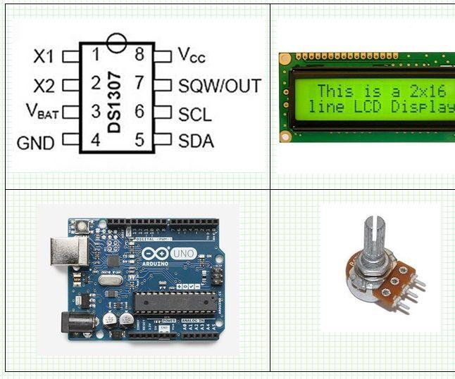2e59fc3acbac73b7b355af52c12727db Aexit 5 Pcs DS1307 DIP-8 56-Byte Serial RTC IC Real-Time Clock