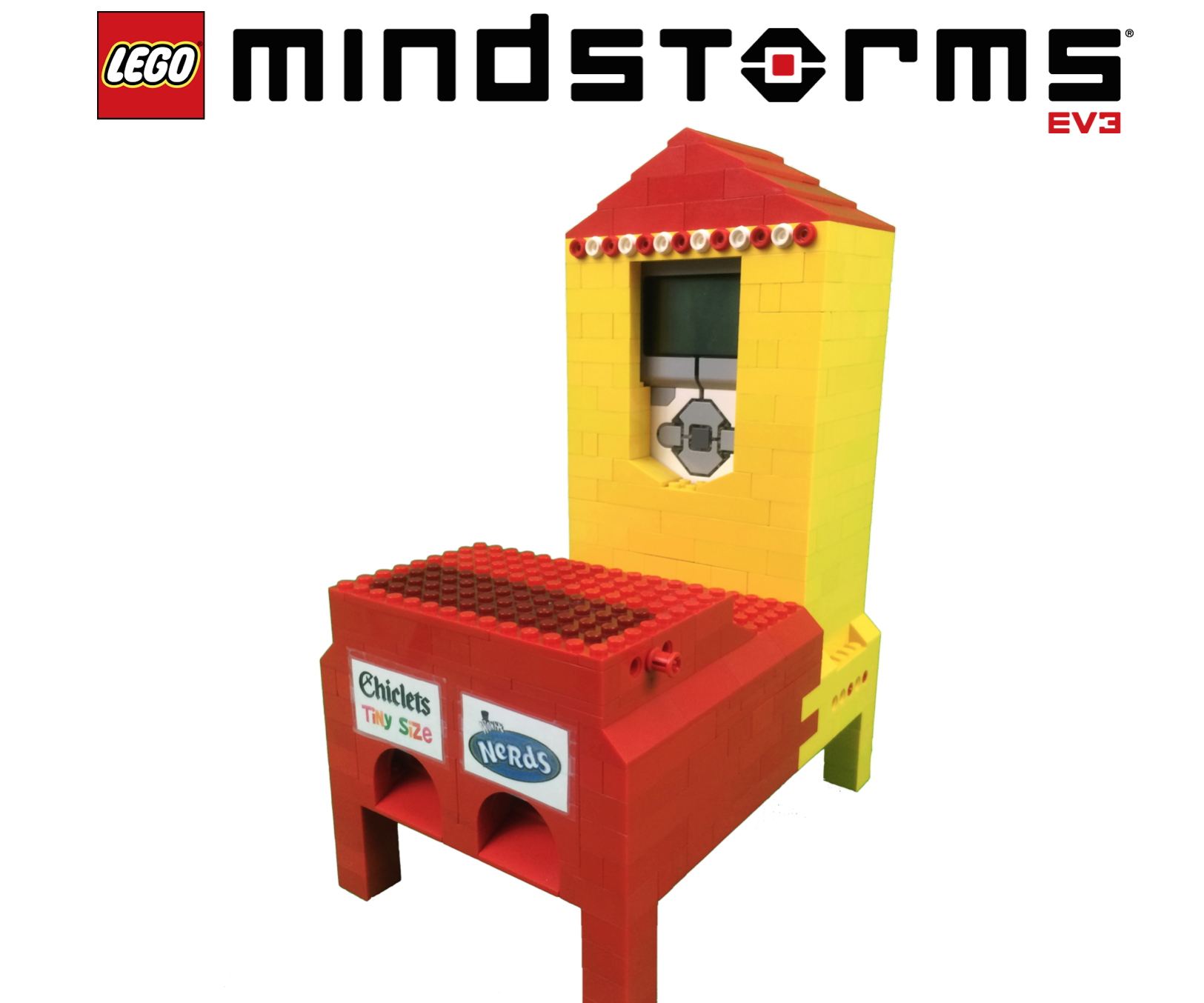 Lego Mindstorms Candy Machine