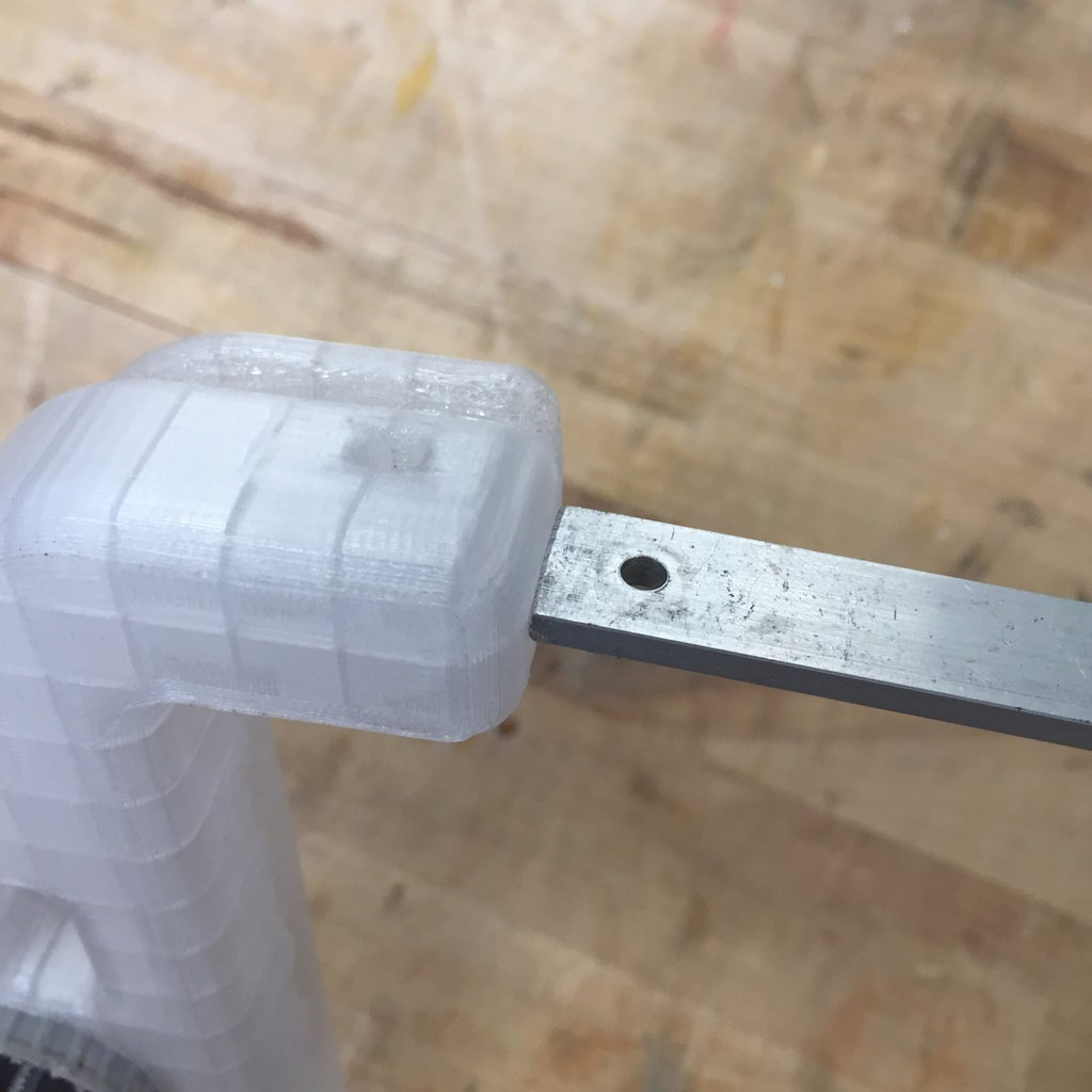Drill Hole Into Frame
