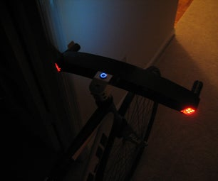 Carbon Fiber Handlebar With Integrated LEDs