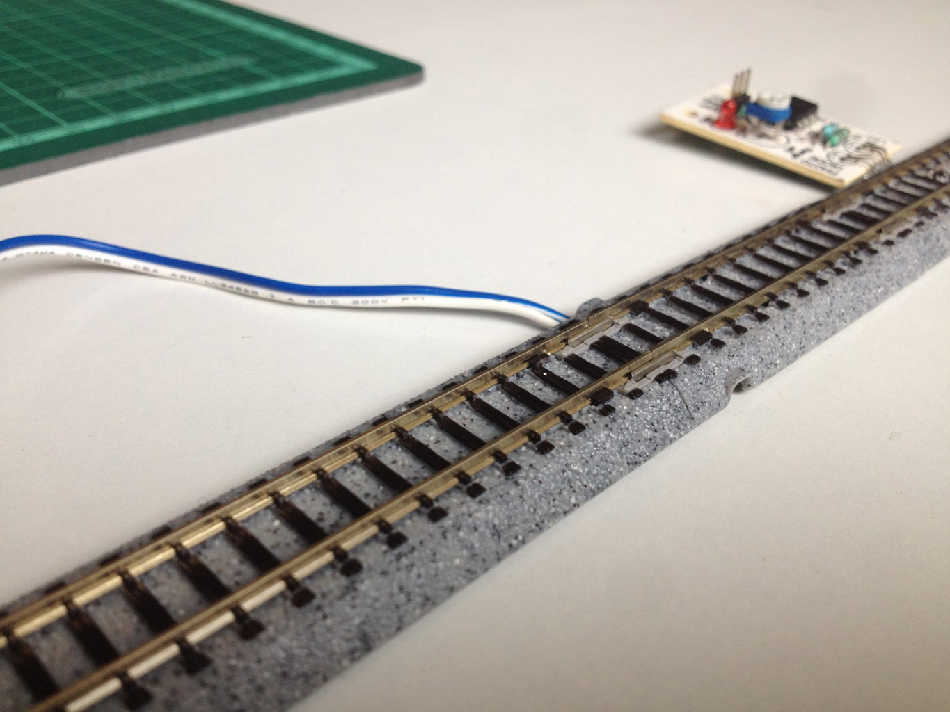 Connect the Track Power to the Motor Shield
