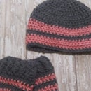Baby Hat and Leg Warmers