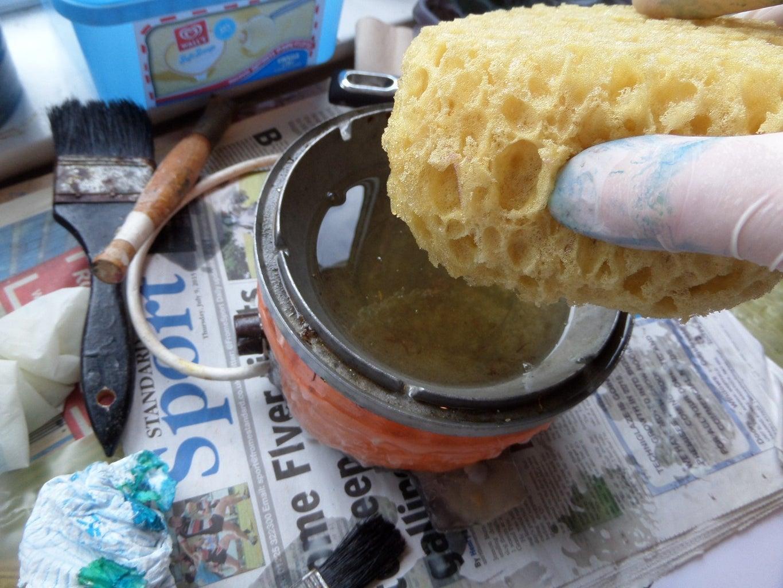 Sponge and Wax!