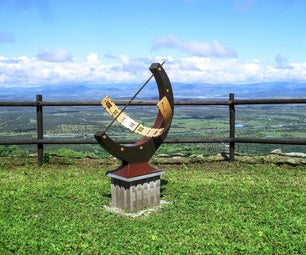 Fiberglass Equatorial Sundial