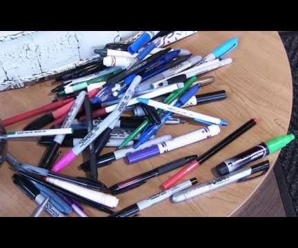 5 Ways to Reuse Old Writing Utensils