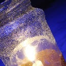 GLITER GLOWING LAMP
