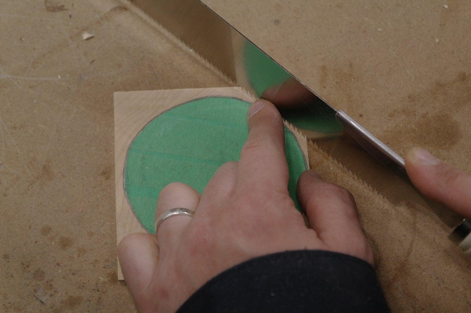 Inlayed Slice of Ham