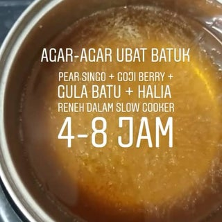 A Cure to Sore Throat or Cough - Pear Sugar Soup