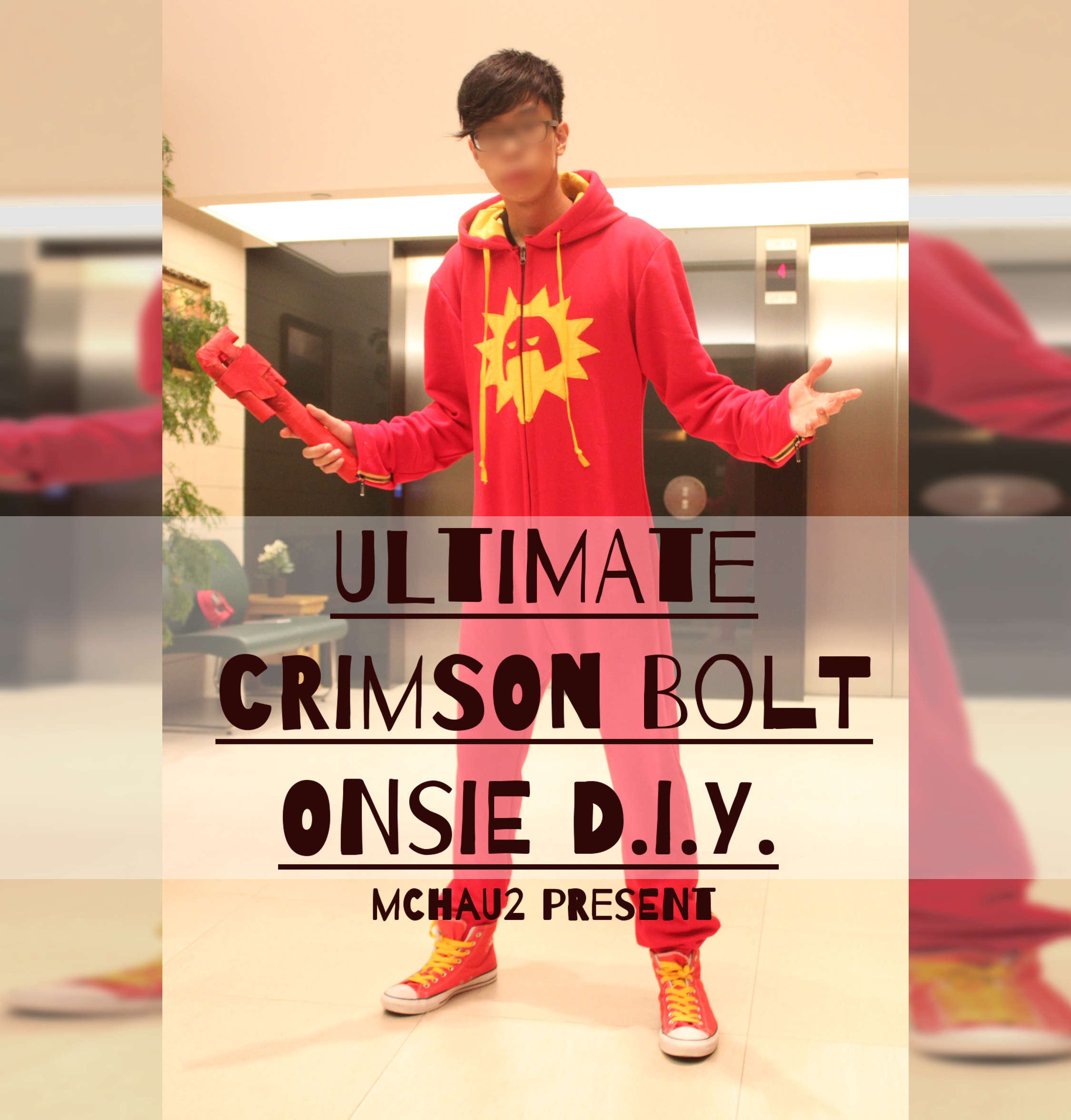 Ultimate Crimson Bolt Onsie D.I.Y.